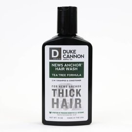 Duke Cannon Supply Co Duke Cannon News Anchor 2-in-1 Hair Wash Tea Tree