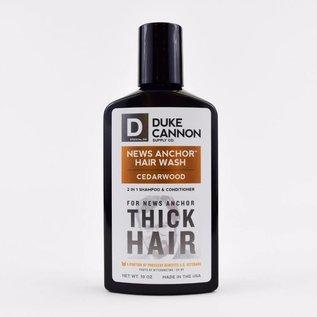 Duke Cannon Supply Co Duke Cannon News Anchor 2-in-1 Hair Wash Cedarwood