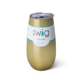 Swig Swig Champagne Flute Gold 6 oz