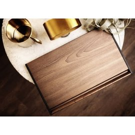 That Inventions That! ThawTHAT! Deluxe Wood Grain Defroster with Built in Drip Tray Copper