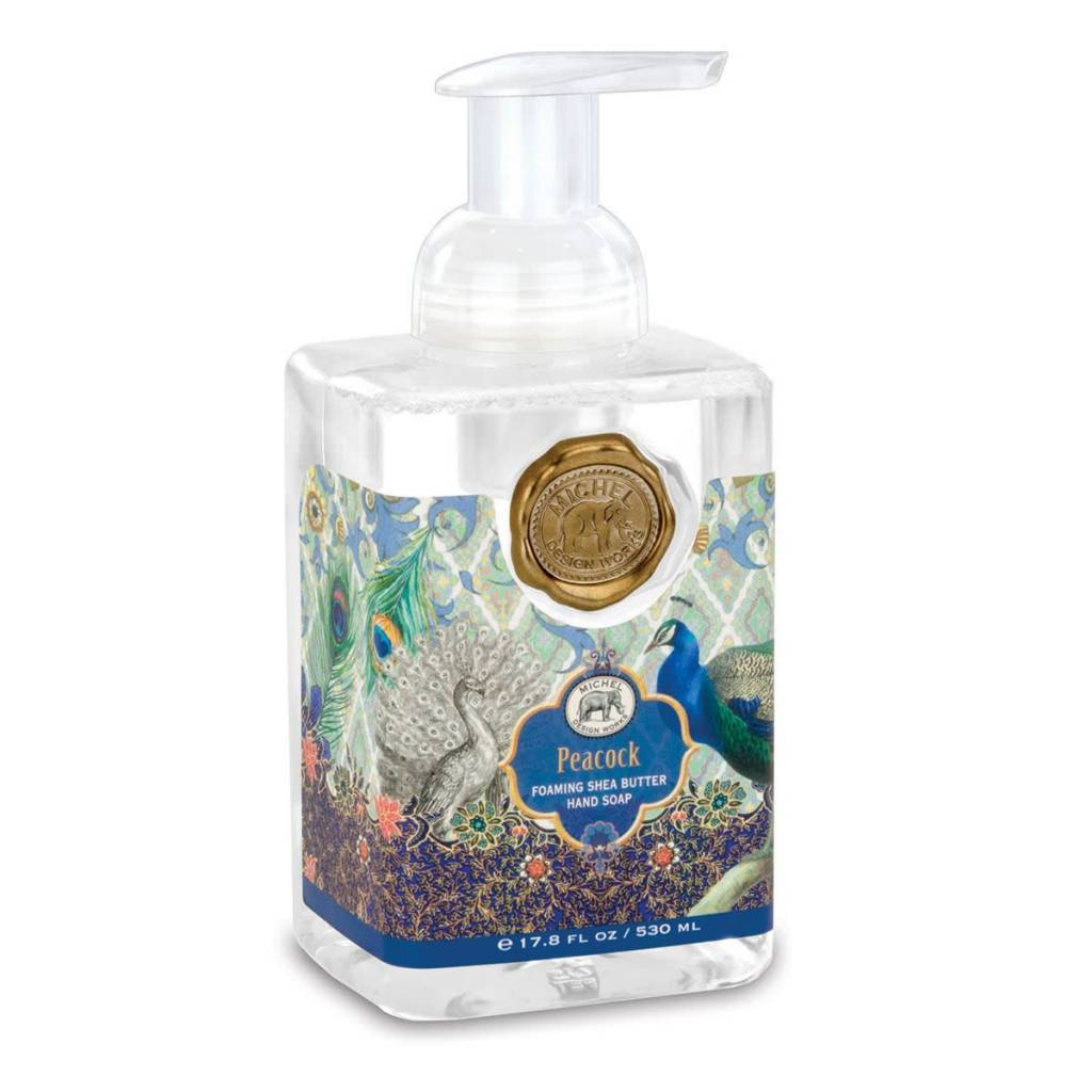 Michel Design Works Foaming Hand Soap Peacock Murphys Department