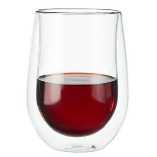 Zwilling J.A. Henckels ZWILLING Sorrento Double Wall Stemless Red Wine 12oz  2pc Set