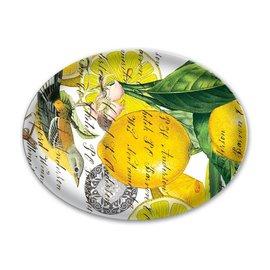 Michel Design Works Michel Design Works Glass Soap Dish Lemon Basil