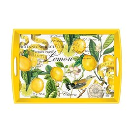Michel Design Works Michel Design Works Decoupage Wooden Tray Lemon Basil 20x13.75 inch