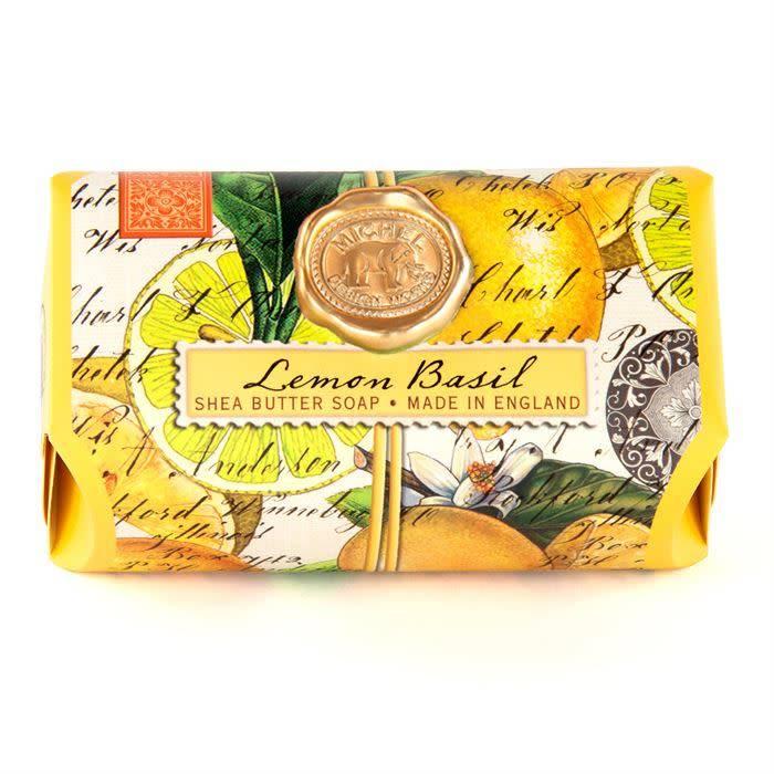 Michel Design Works Bath Soap Bar Lemon Basil
