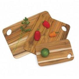 Lipper Lipper Teak Cutting Boards set of 3