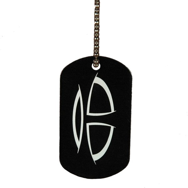 Trick Drums Logo Dog Tag w/ Chain