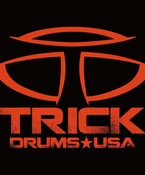 Trick Drums Logo Sticker