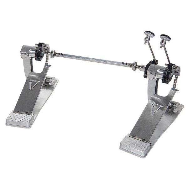 Trick Drums Pro1-V ShortBoard Low Mass Chain Drive Double Pedal