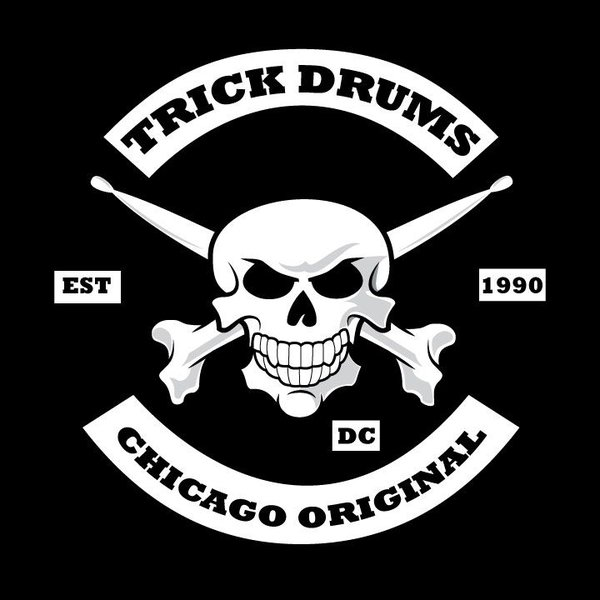 Trick Drums Chicago Original Sticker