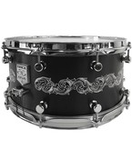 Trick Drums Custom AL13 6.5x14 Hand Engraved Snare Drum