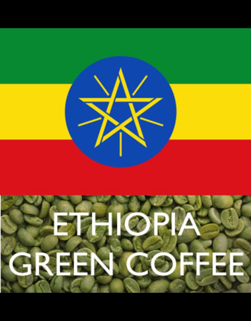 BUENAVITA GREEN BEANS - ETHIOPIA GUJI NATURAL 3 (NATURAL) 1 LB