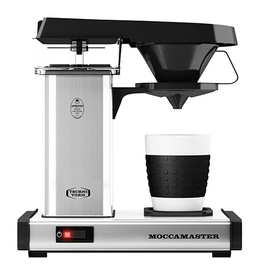 MOCCAMASTER CUP-ONE 1 CUP SILVER