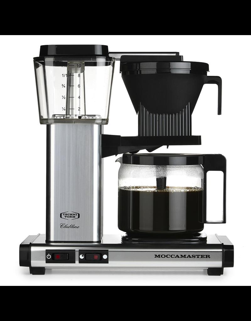 TECHNIVORM MOCCAMASTER KBG 10 CUP COFFEE MAKER - SILVER