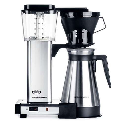 TECHNIVORM MOCCAMASTER KBT 10 CUP COFFEE MAKER SILVER