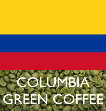 BUENAVITA GREEN BEANS - COLOMBIA  RAINFOREST SANTANDER (WASHED) 1 LB