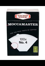 TECHNIVORM MOCCAMASTER NUMBER 4 FILTERS PACK OF 100