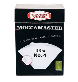 TECHNIVORM MOCCAMASTER NUMBER 4 FILTERS PACK OF 100