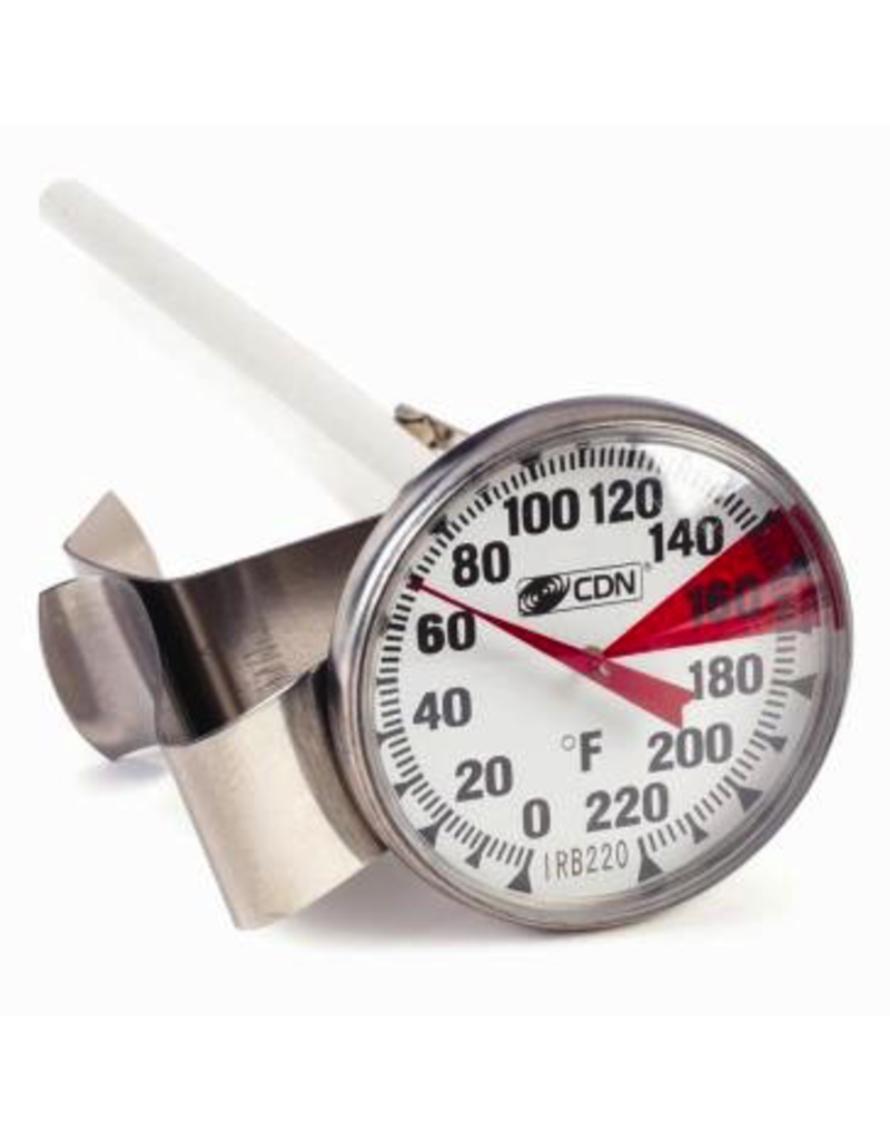 CDN CDN MILK STEAMING FROTHING THERMOMETER 1.5 INCH DIAL
