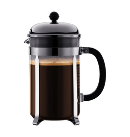 BODUM CHAMBORD 12 CUP FRENCH PRESS 1.5 L SHINY