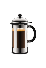 BODUM NEW CHAMBORD 8 CUP FRENCH PRESS 1.0 L SHINY