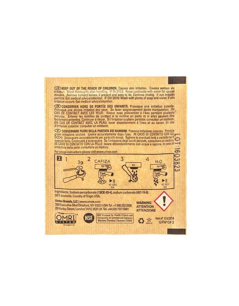 URNEX CLEANER - URNEX CAFIZA ESPRESSO MACHINE CLEANER 10 PACK