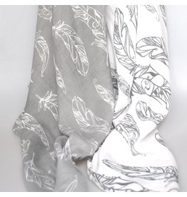Nest Bamboo Swaddle Blankie Feather Light 2pk