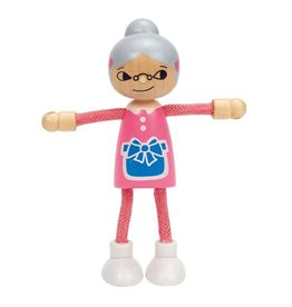Hape Toys Modern Family, Grandmother
