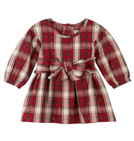 Hatley Holiday Plaid Baby Party Dress