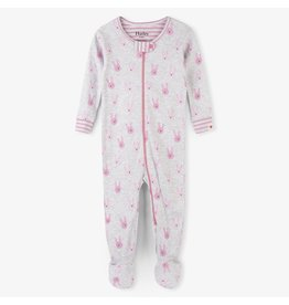 Hatley Funny Bunnies Organic Footed Coverall