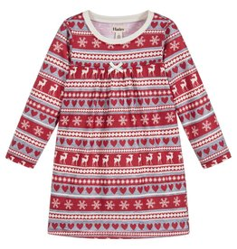 Hatley Fair Isle Deer Nightdress