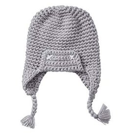 Smartwool Kids' Grey Merino Trapper Hat