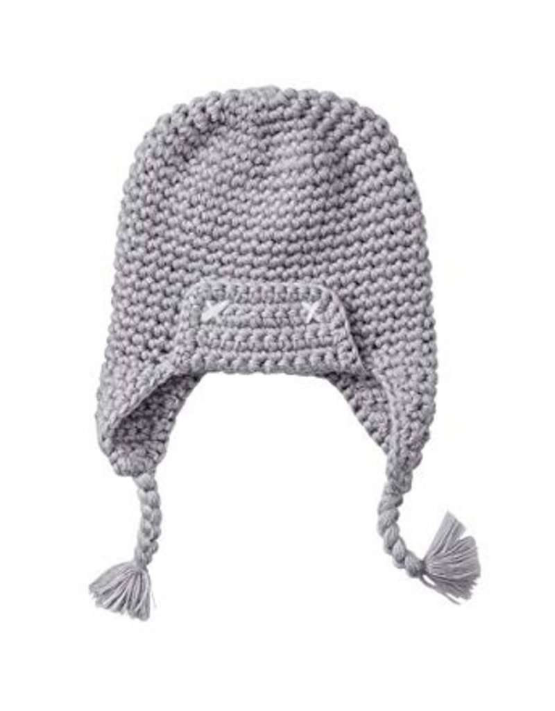 6c82fbe0fb8 Smartwool Kids  Grey Merino Trapper Hat - Vancouver s Best Baby ...