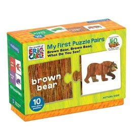 Mudpuppy The World Of Eric Carle Brown Bear, Brown Bear, What Do You See? My First Puzzle