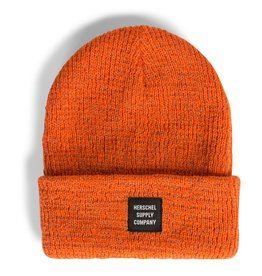 Herschel Abbott Reflective Toque - Vermillion Orange
