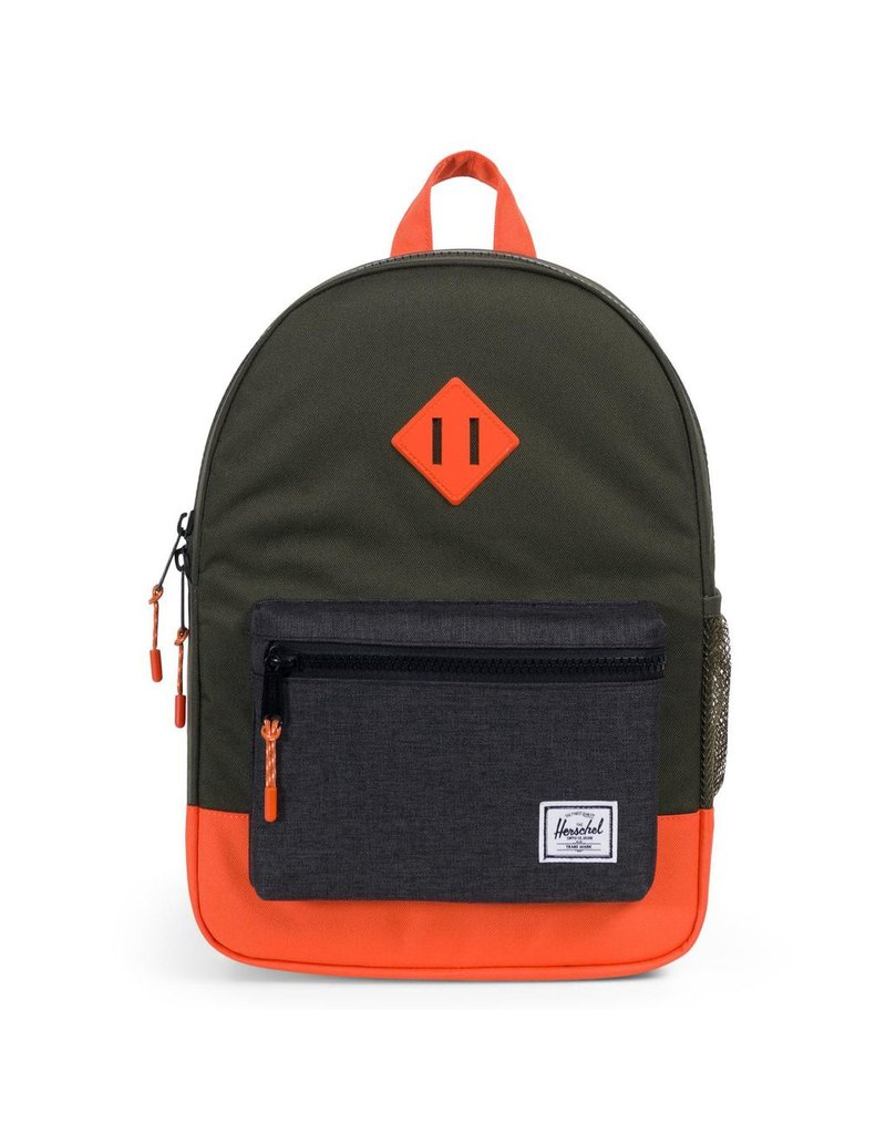 Herschel Youth Heritage Forest Night/Orange