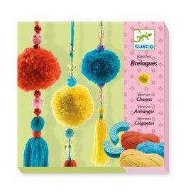 Djeco Wool - 3 Beads Pompons