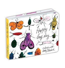 Mudpuppy Andy Warhol Happy Bug Day Board Book
