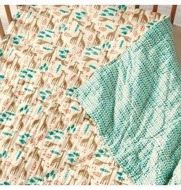 Savanna Block Print Quilt
