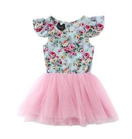 Ruffle Floral Tutu Dress