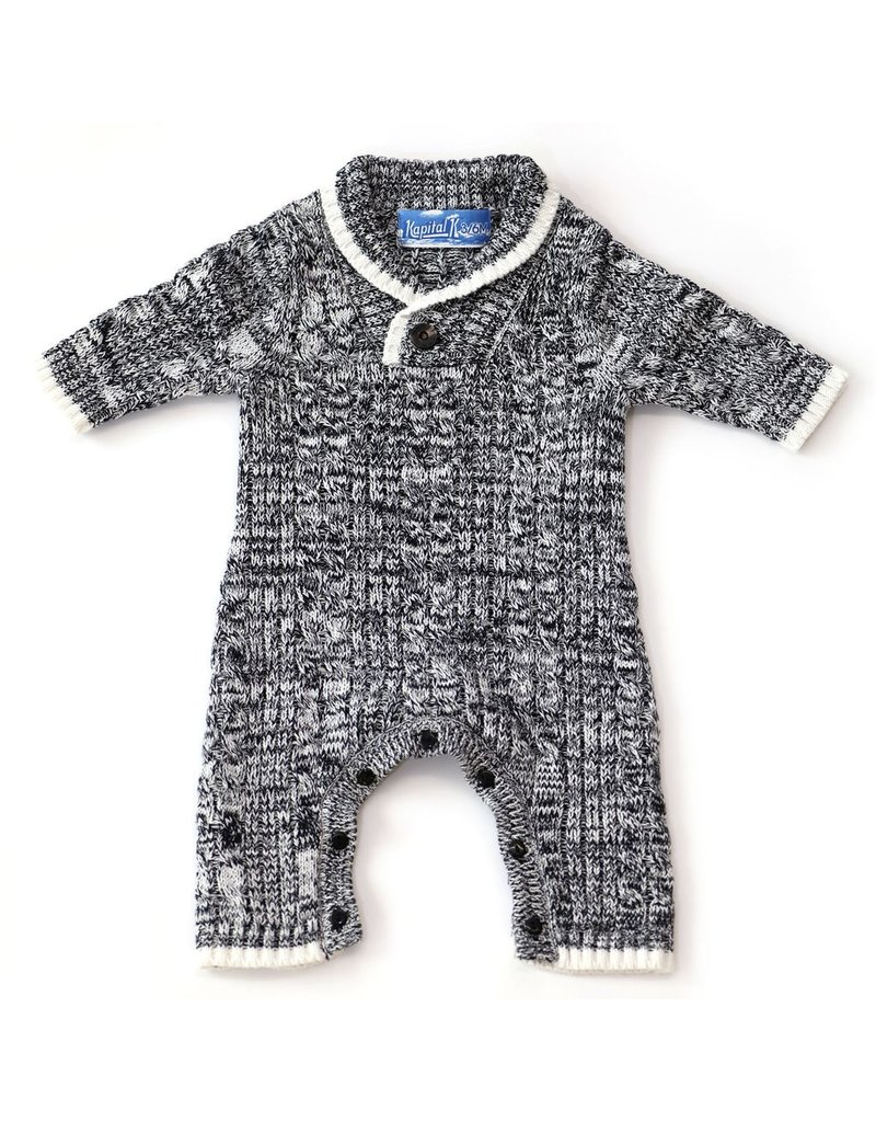 Kapital K Cable Knit Coverall