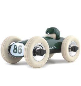 Playforever Midi Race Car Bonnie - British Green