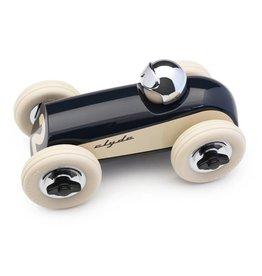 Playforever Midi Race Car Clyde - Navy/Chrome