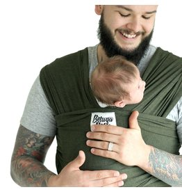 Beluga Baby Beluga Baby Bamboo Wrap - Heather Green