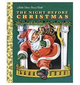 Random House Golden Books: The Night Before Christmas Board Book