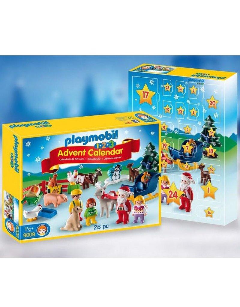 Playmobil Playmobil 1.2.3 Advent Calendar 'Christmas on the Farm' Advent Calendar