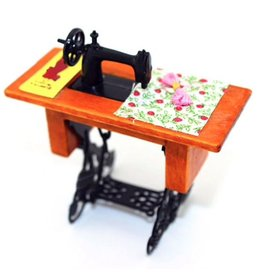 Dollhouse Vintage Sewing Machine 1:12 (Fits Maileg Mice)