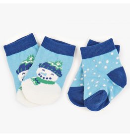 Hatley Infant Socks - Snowman, Nb-12m