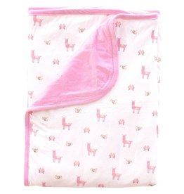 Kyte Baby Baby Blanket in Blossum/Peruvian