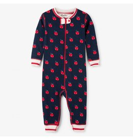 Hatley Smiling Apples Organic Coverall
